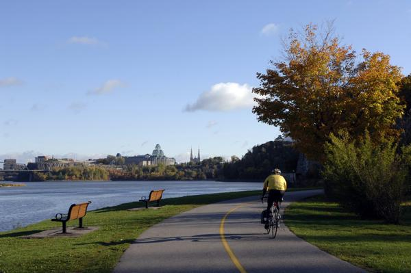 Ottawa Cycling Path